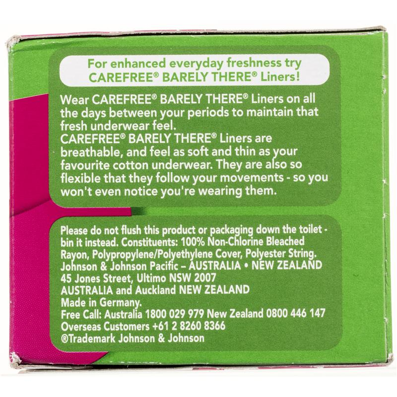 Buy Carefree Tampons ProComfort Super 32 Online at Chemist Warehouse®