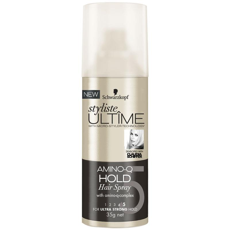 Schwarzkopf Styliste Ultime Amino Q Travel Hairspray 35g at Chemist Warehouse in Campbellfield, VIC | Tuggl