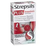 Strepsils Plus Sore Throat Numbing Spray Pain Relief