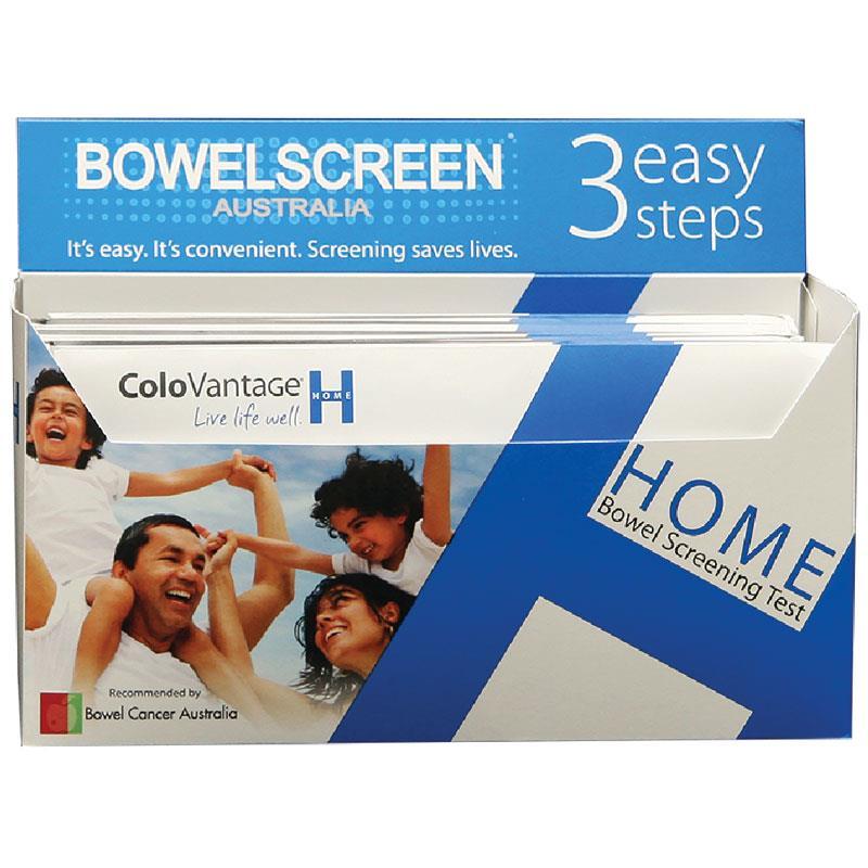Buy Bowelscreen Australia Colovantage Home Kit Online At Chemist Warehouse