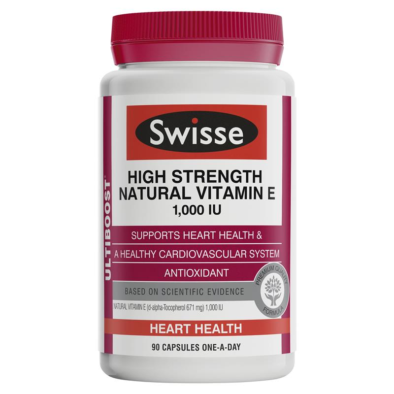 Buy Swisse Ultiboost High Strength Natural Vitamin E