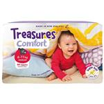 Treasures Nappies Bulk Crawler 44 Pack