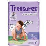 Treasures Nappies Bulk Junior 30 Pack