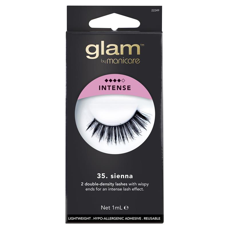 Buy Glam By Manicare 35 Sienna Lashes Online At Chemist Warehouse
