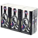 AFL Pocket Tissues Collingwood 6 Pack