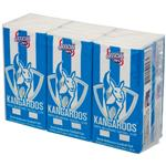 AFL Pocket Tissues North Melbourne 6 Pack