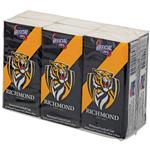 AFL Pocket Tissues Richmond 6 Pack