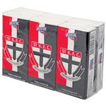 AFL Pocket Tissues St Kilda 6 Pack