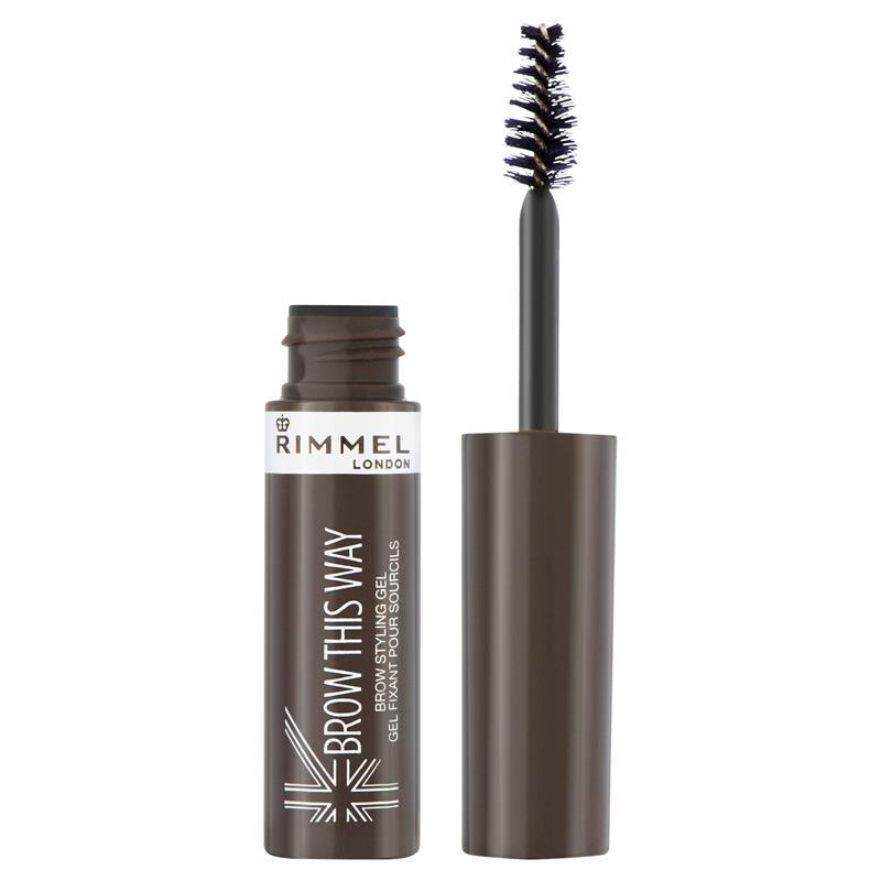 Buy Rimmel Brow This Way Eyebrow Gel 003 Dark Brown Online At