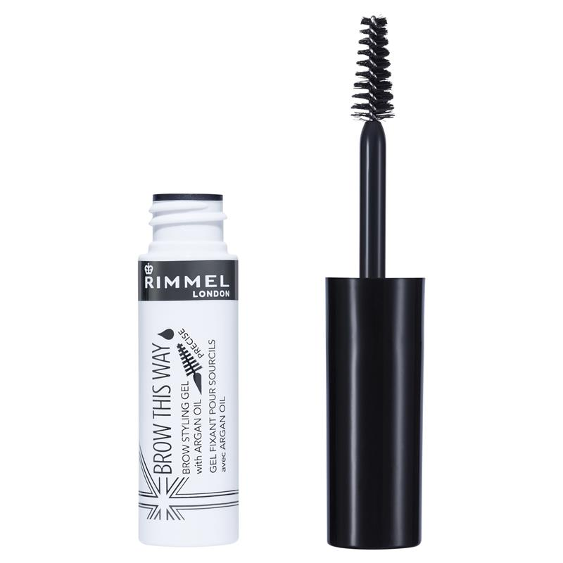 Buy Rimmel Brow This Way Eyebrow Gel 004 Clear Online At Chemist