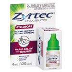 Zyrtec Antihistamine Eye Drops 4mL
