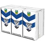 NRL Pocket Tissues Canterbury Bulldogs 6 Pack
