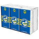 NRL Pocket Tissues Parramatta Eels 6 Pack