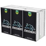 NRL Pocket Tissues Penrith Panthers 6 Pack