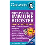 Carusos Natural Health Kids Probiotic Immune Booster 30 Chewable Tablets