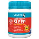 Carusos Natural Health Good Nights Sleep 75g