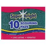 Super Bright Scouring Pads 10