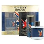 Playboy London 100ml 3 Piece Set