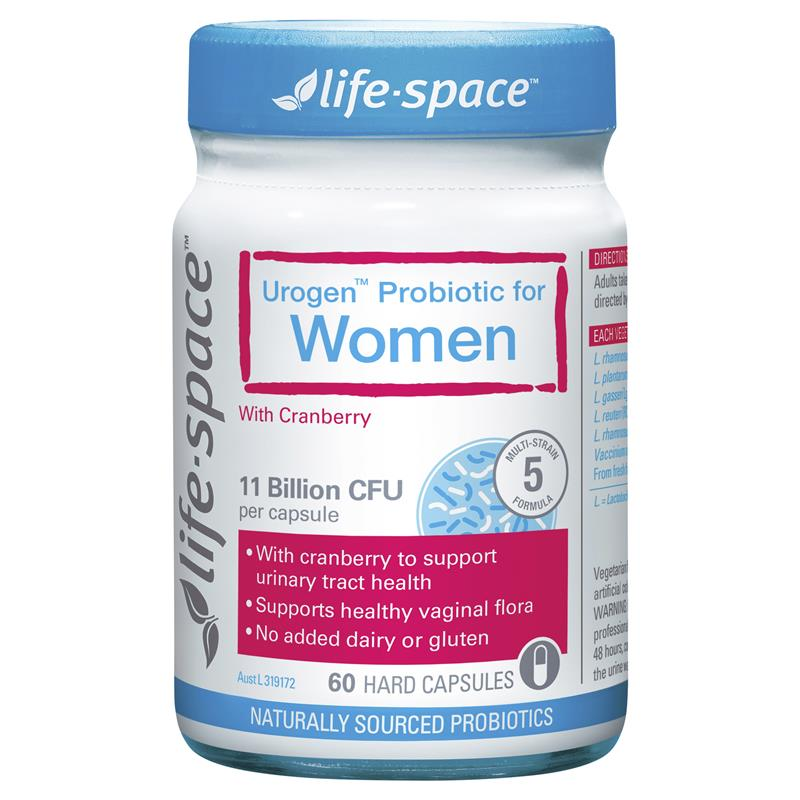Life Space UroGenl Shield For Women 60 Capsules | Tuggl