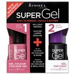 Rimmel Super Gel Duo Pack 023 Grape Sorbet Limited Edition