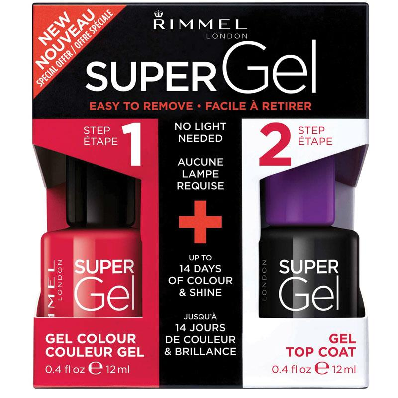 Rimmel Super Gel Duo Pack 041 Darling Dahlia Limited Edition