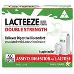 Lacteeze Double Strength 40 Chewable Caplets