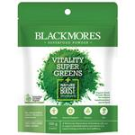 Blackmores Superfood Powder Vitality Super Greens + Nature Boost Antioxidants 100g