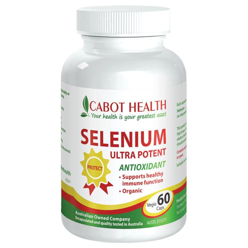 Cabot Health Selenium Ultra Potent 60 Capsules at Chemist Warehouse in Campbellfield, VIC | Tuggl