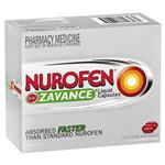 Nurofen Zavance Liquid Capsules Pain Relief 200mg 80 Pack