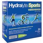 Hydralyte Sports Lemon Lime Effervescent 24 Tablets