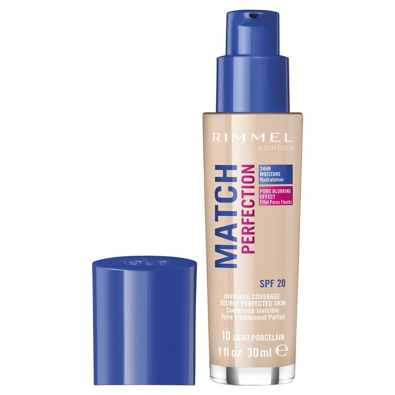 Buy Rimmel Match Perfection 010 Light Porcelain Online At