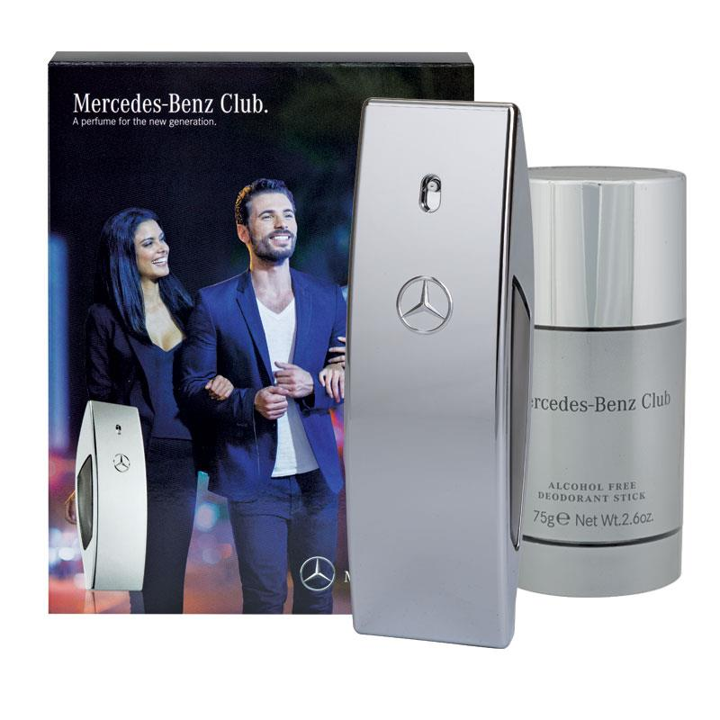 Buy mercedes benz club 50ml 2 piece travel set online at for Mercedes benz club