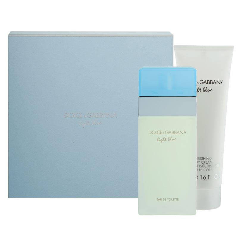Buy Dolce & Gabbana For Women Light Blue 25ml 2 Piece Gift