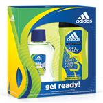 Adidas Get Ready Aftershave 100ml + Shower Gel Set