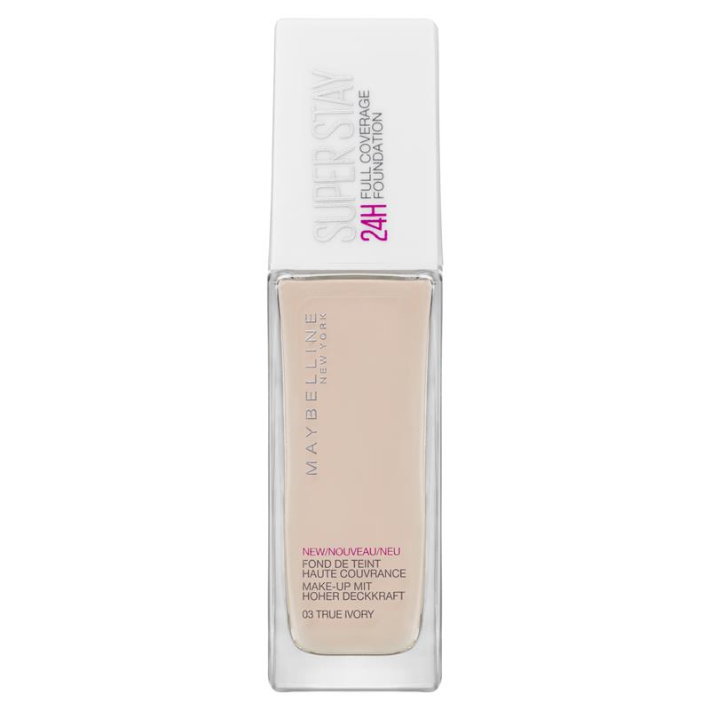 Buy Maybelline Superstay 24 Hour Foundation 003 True Ivory 30ml ...