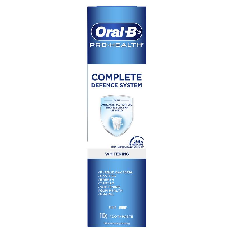 Buy Oral B Toothpaste Pro Health Advanced Whitening 110g Online at