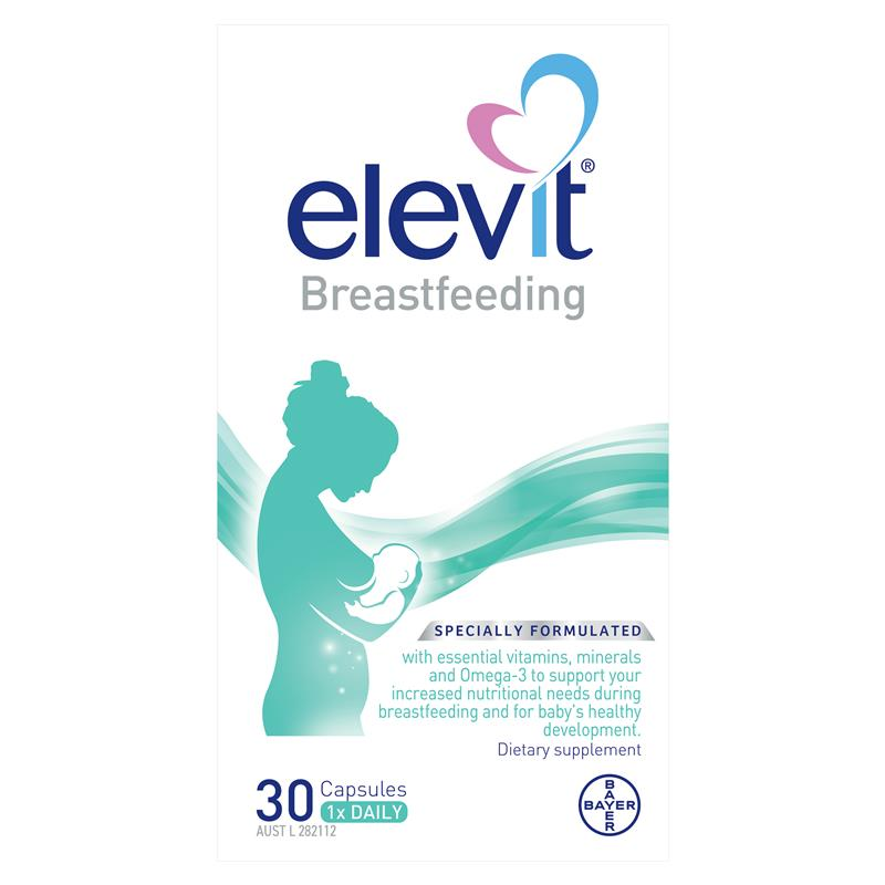 Elevit Breast Feeding 30 Capsules at Chemist Warehouse in Campbellfield, VIC | Tuggl