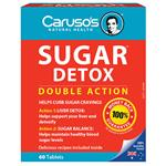 Carusos Natural Health Sugar Detox 60 Tablets