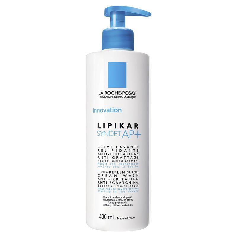 La Roche-Posay Lipikar Syndet AP+ Cream Wash 400ml | Tuggl