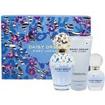 Marc Jacobs Daisy Dreams 100ml Eau De Toilette + Body Lotion 75ml & Rollerball 10ml Case Set