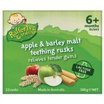 Raffertys Garden 6+ Months Lactose Free Apple and Barley Malt Rusks 100g