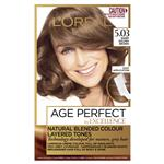 L'Oreal Paris Excellence Age Perfect Permananent Hair Colour - 5.03 Warm Golden Brown (Natural Blended Colour)