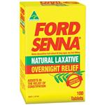 Ford Senna Natural Laxative 100 Tablets