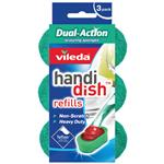 Vileda Dual Action Refills 3 Pack
