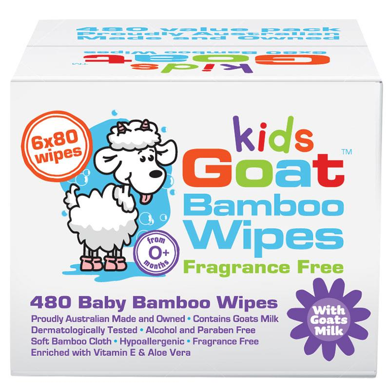 Goat Bamboo Wet Wipes 480 Pack at Chemist Warehouse in Campbellfield, VIC | Tuggl