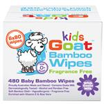 Goat Bamboo Wet Wipes 480 Pack