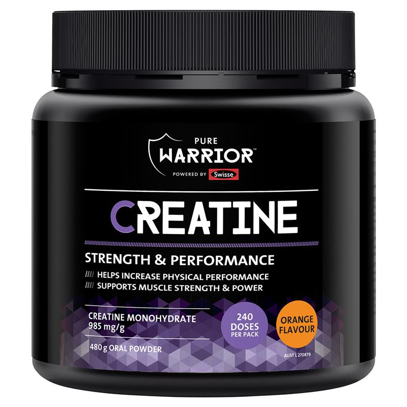 Pure Warrior Creatine Powder 480G at Chemist Warehouse in Campbellfield, VIC | Tuggl