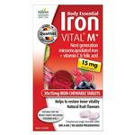 Body Essential Iron Vital M+ Chewable Tablets