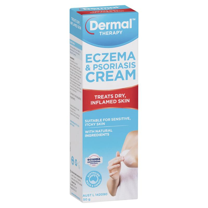 Buy Dermal Therapy Eczema & Psoriasis Cream 50g Online at