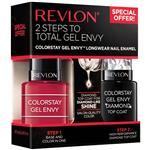 Revlon Colorstay Gel Envy Duo Packs Roulette Rush Diamond Top Coat